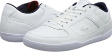 LACOSTE COURT-MINIMAL 316 3 CAM WHT/NVY LEATHER SIZE 13  ---