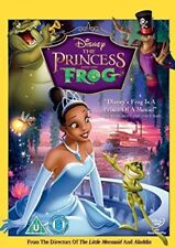 THE PRINCESS AND THE FROG - NEW / SEALED DVD - UK STOCK
