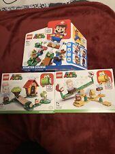 Lego Super Mario Sets 71360, 71365, 71367 (brand New Sealed)