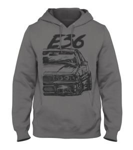 Grunge Style BMW E36 3 Series Men's Hoodie