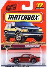 Matchbox MB 17 Porsche 959 Mint On Card 1999