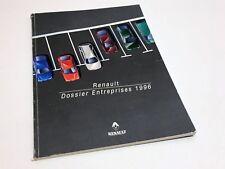1996 Renault 5 Twingo Clio Megane Laguna Safrane Espace Trafic Brochure - French