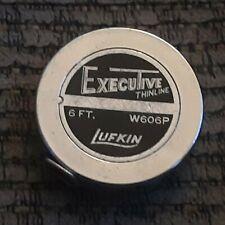 VTG Lufkin Executive Diameter Pocket Steel Measuring Tape W606P USA MADE TOOL