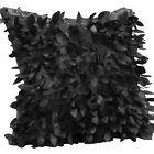 Fallen Leaves Feather Throw Pillow Waist Pillow Cushion Cover Pillowcase