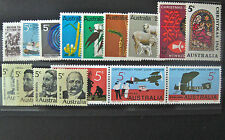 Full Year Collection of 1970 Australian Stamps