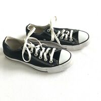 Converse All Star Chuck Taylor Low Top Sneakers Size 5Men 7Womens Black White