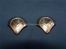 1946 - 1962 Cadillac Fog Light Fog Lamp Bulb Covers Pair