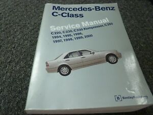 Repair Manuals Literature For 1999 Mercedes Benz C280 For Sale Ebay