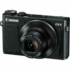 Canon G9X Canon Zoom Lens 3x Is 10.2-30.6mm 1:2.0-4.9 Digital Camera Black