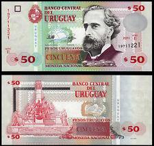 URUGUAY 50 PESOS (P87b) 2011 Serie E UNC