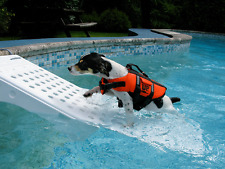 Pet Pool Safety Step Dog Ramp Swimming Pup Ladder Water Float Boat Dock Spa New
