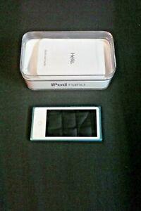 Apple iPod nano 7th Generation - Blue (16GB) - Excellent Condition!