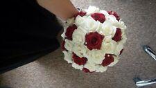 Brand New Bridal Bouquet Wedding Flowers Diamanté Stones