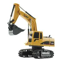 5 Channel RC Truck Excavator Remote Control Simulation Crawler Tractor Toys L&6