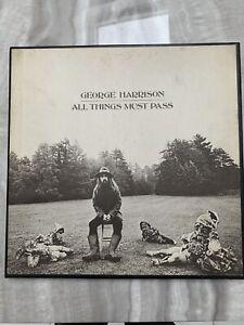 George Harrison - All Things Must Pass (UK Triple Vinyl LP Box Set 1st Press)