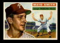 1956 Topps Baseball #60 Mayo Smith (Phillies) NM