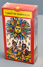 TAROT OF MARSEILLE - CLAUDE BURDEL 1751 RESTORED TAROT DECK - SEALED NEW IN BOX