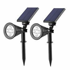 LED Solarleuchte Strahler Solarstrahler Gartenlampe Spot Licht IP65