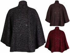 Polyester Animal Print Machine Washable Coats & Jackets for Women