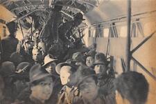C4226) WW2 AVIAZIONE REPARTO DI ALPINI DENTRO UN SAVOIA MARCHETTI S.M. 82.