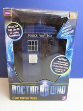 Dr Who Tardis sonidos de luz de control de vuelo Figura de Acción 10th 11th 12th 12T En Caja