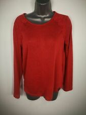 WOMENS SUPERDRY CORAL THIN KNITTED KNIT JUMPER SWEATER PULL OVER UK 14