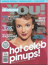 Britney Spears - Teen's All About You! Winter 2000 Magazine Brand New!