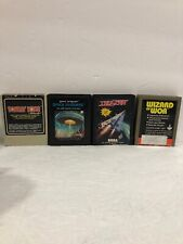 Lot of 4 Atari And Sega Games Bundle Vintage Untested