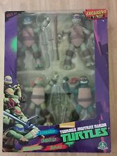 Nickelodeon TMNT Exclusive Action Figure 4 Pack - Leo, Don, Mike, Raph - New