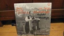 MUSIK PARODIE UNTERHALTUNG-ACCORDION-SEPP SCHNEEBERGER- ROYAL LP GERMANY  NM