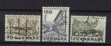 Denmark 1975 Sg#602-4 Architectural Heritage Used Set