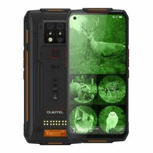 "OUKITEL WP7 Rugged 6.5"" Mobile Phone: 8Gb + 128Gb: Infrared Camera: 8000mAh Batt"