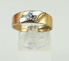 Original edad Marine-ring 1. WK con esmaltes, talla 65/ø 20,7 mm (da4478)