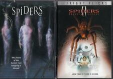 SPIDERS 1 & 2: Breeding Ground- Giant Killer Spiders- Lana Parrilla- NEW 2 DVD