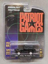 Greenlight 1987 Jeep Wrangler YJ - Patriot Games - Hollywood Series 13