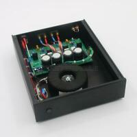 Finished Stereo HiFi 75W+75W Amplifier Based on NAP-200 Power Amp Circuit