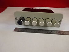 MICROSCOPE PART NIKON JAPAN METAPLAN TRIGGER ASSEMBLY FILTER AS IS #N9-A-09