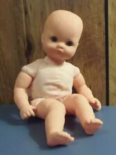 Plush and Plastic- Baby Doll with Open and Close eyes- 12 inches- Cititoy