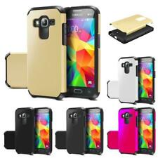 Armor Dual Layer Tough Slim Fit Protective Phone Cover Hybrid Shockproof Case