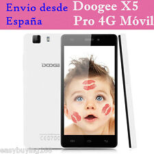 2GB+16GB 5.0'' Doogee X5 Pro 4G Smartphone Android5.1 Quad-Core 8MP Móvil Libres