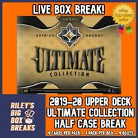 🔥🏒 2019-20 ULTIMATE COLLECTION (x4) HALF CASE BOX BREAK #57 🔥🏒