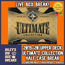 🔥🏒 2019-20 ULTIMATE COLLECTION (x4) HALF CASE BOX BREAK #57 🔥🏒