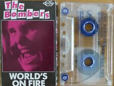 Bombers/ Lancaster/ Brewster - World's On Fire.1989 Aussie 2 Track Cass Single.