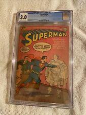 CGC DC comic superman 91