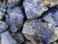 SODALITE ROUGH ROCKS - 2 1/2 LB Lot - TUMBLER, CABBING ROUGH - FREE SHIPPING