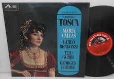 ALP 2300 Puccini Tosca H/lights Maria Callas Paris Conservatoire Georges Pretre