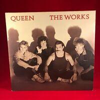 Queen Die Works 1984 UK Vinyl LP + Innere Record Exzellenter Zustand Original