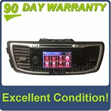 2013 - 2015 Honda Accord OEM Premium Navigation AM FM SAT Radio Receiver