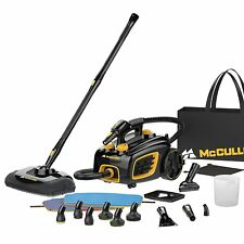 McCulloch 1500 Watts Multipurpose Canister Steam Cleaner with 20 Accessories