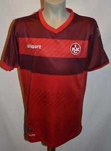 T-Shirt / Trikot vom 1. FC Kaiserslautern, Größe 152, von Uhlsport, Rot